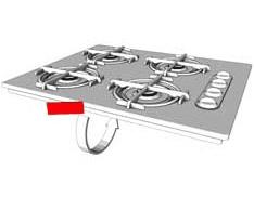 Zanussi FA1032 FA1035E FA1055E machine à laver porte Joint eq.1260589005